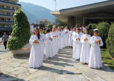 Communion Ste-Croix 13 septembre 2020 11h